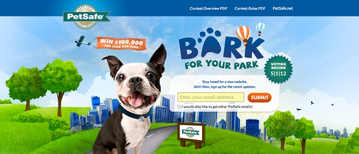 Bark for Your Park 2014