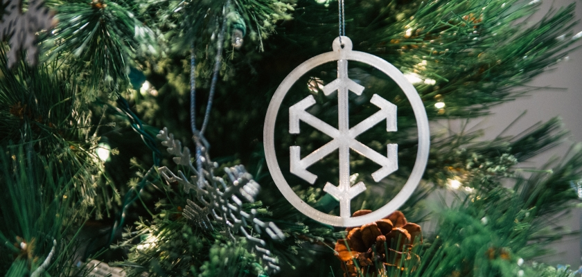 Designsensory Spark Ornament—Coming to a Tree Near You