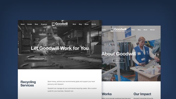 Goodwill Website Design