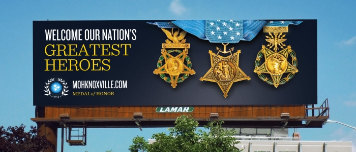 Medal of Honor Convention Marketing Campaign