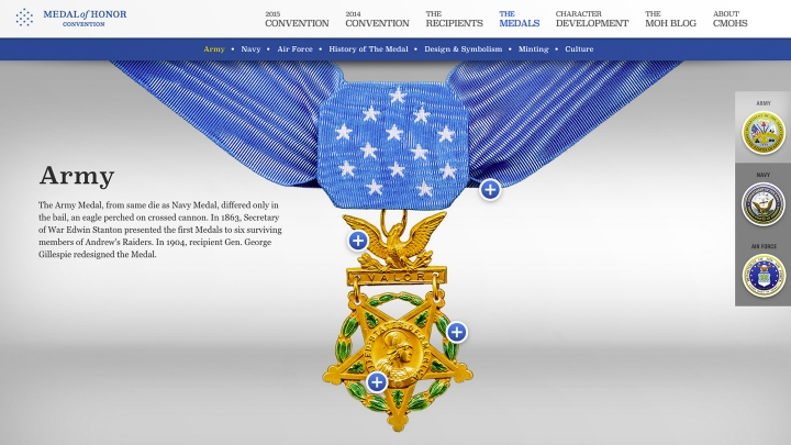 Website: Army Medal