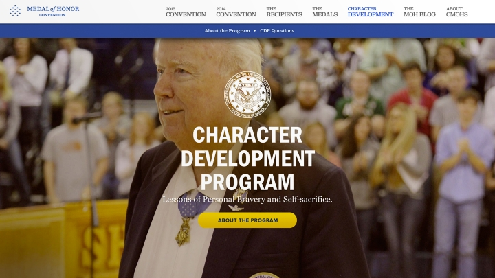 Website: Character Development Program