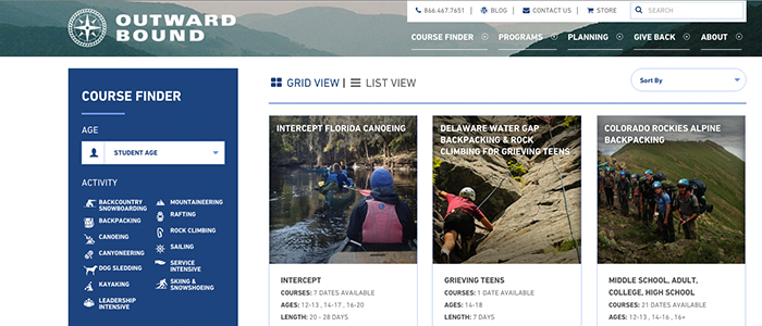 Outward Bound Website
