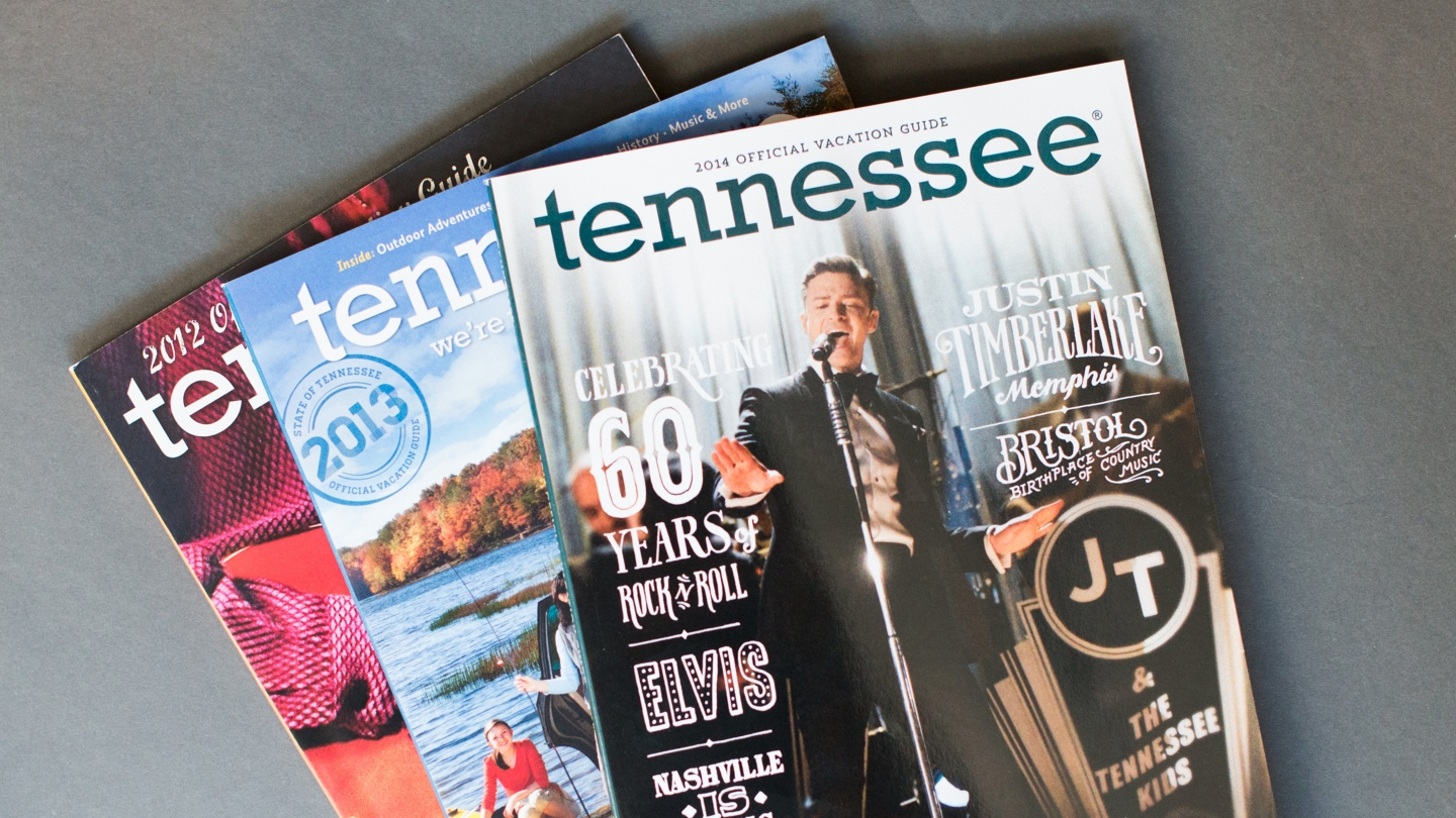 Tennessee Vacation Guide Covers