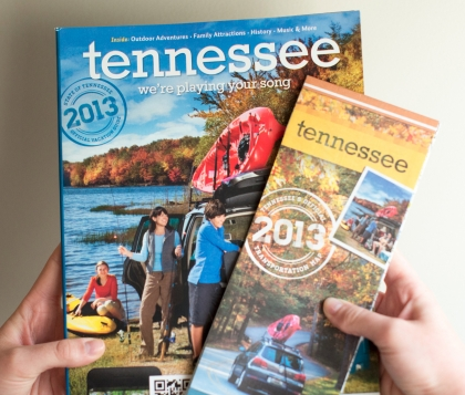 Tennessee Guidebook Covers