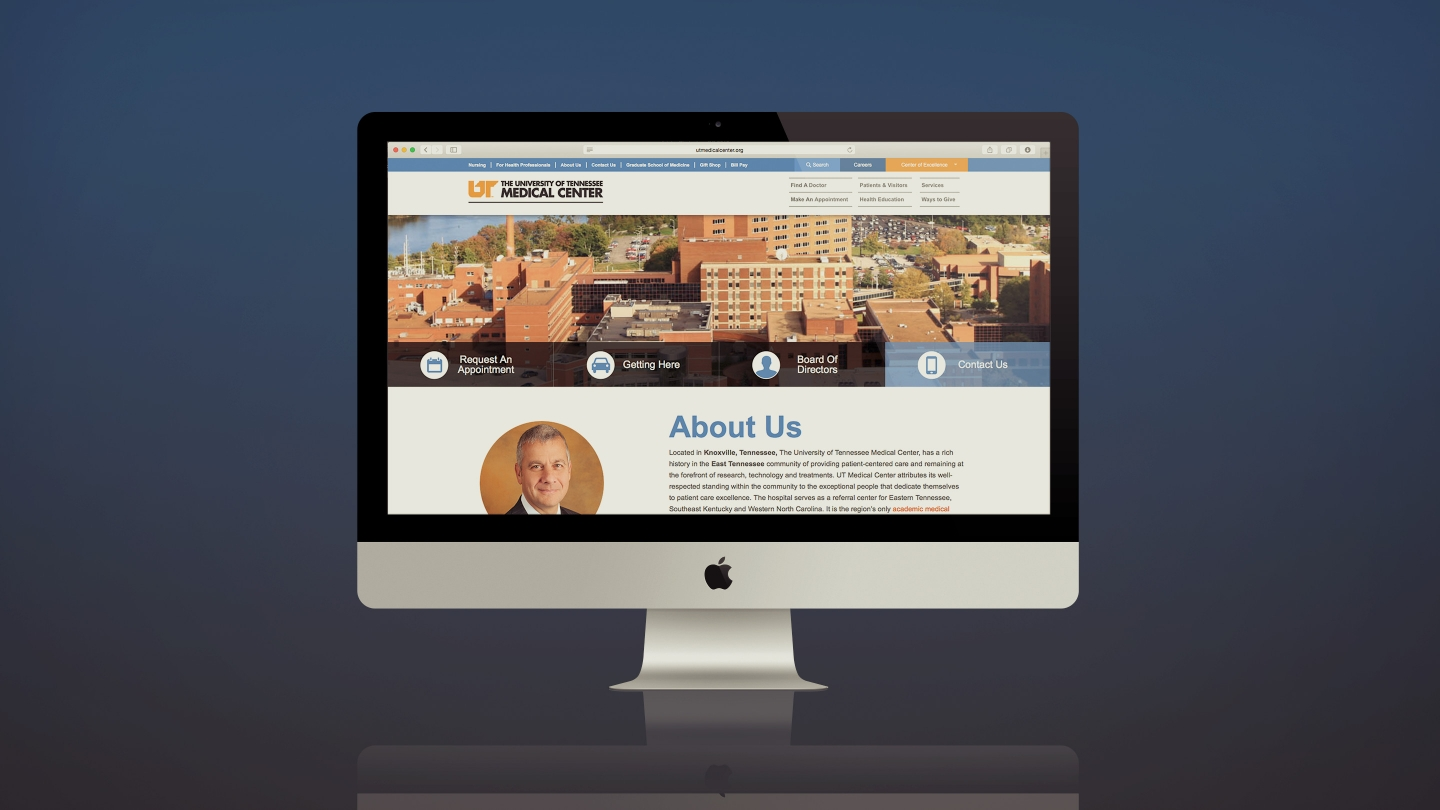University of Tennessee Medical Center Website
