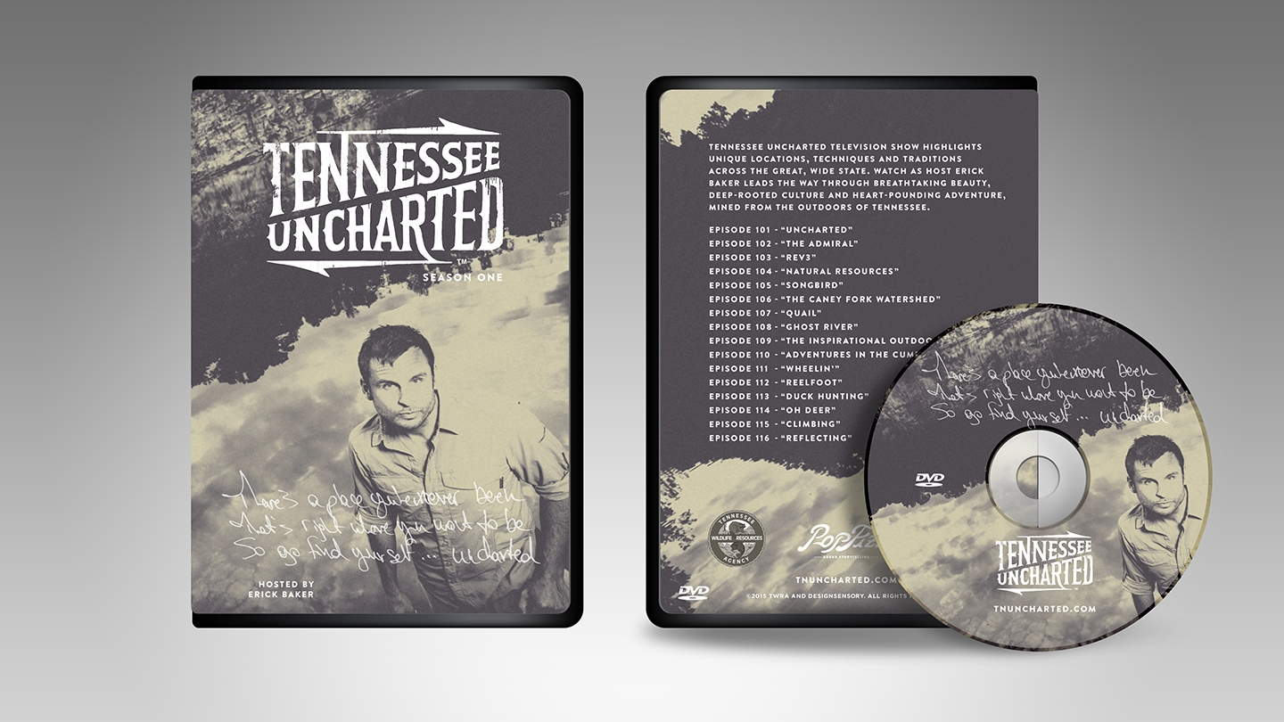 Uncharted DVD packaging design