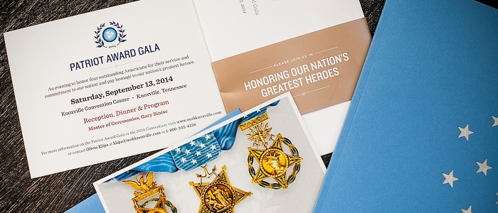 Medal of Honor Convention Collateral